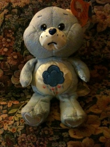 Plush Grumpy Bear Care Bear 8 Inches Dazzle Bright Special Edition 2004 front-1013619