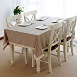 Linen Table Cloth with Lace (140*200cm)
