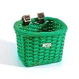 Nantucket Bike Basket Co Gull Collection Rectangle Child Bike Basket (Green)