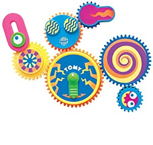 TOMY Gearation Refrigerator Magnets Building Toy