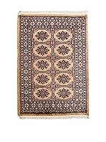 Navaei & Co. Alfombra Kashmir Beige/Multicolor 123 x 81 cm