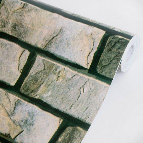 Nature Brick - Self-Adhesive Wallpaper Home Decor(Roll) front-481446