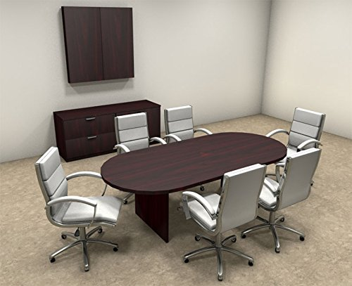 Modern Racetrack 8 Feet Conference Table, #OT-SUL-C7