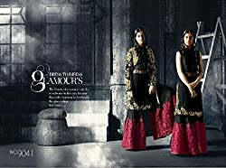 INDIAN DESIGNER PARTY WEAR STRAIGHT SALWAR KAMEEZ SUIT PARTY WEAR BRIDAL WEDDING