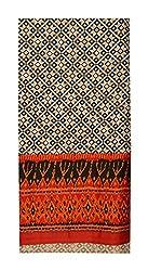 Gulmohar Women's Cotton Unstitched Dress Material (Black)