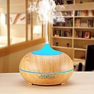 300ml Cool Mist Ultrasonic Humidifier…