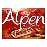 Alpen Strawberry and Yoghurt Cereal Bar 5 Pack 145g