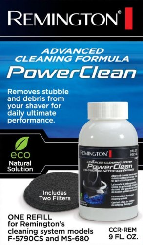 Remington Powerclean Cleaning Solution And Replacement Filter For All Cleaning Systems