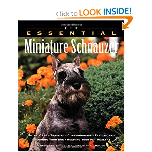 The Essential Miniature Schnauzer cover