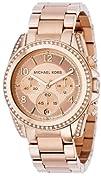 Michael Kors Womens MK5263 Blair Rose Gold-Tone Watch