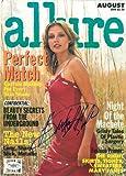 Bridget Hall Signed Authentic Autographed 8x11 Allure Magazine Cover JSA COA #E51309