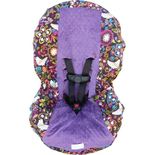 Birds Of Norway Violet Toddler Car Seat Cover