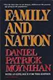 Family and Nation (0156301407) by Moynihan, Daniel Patrick