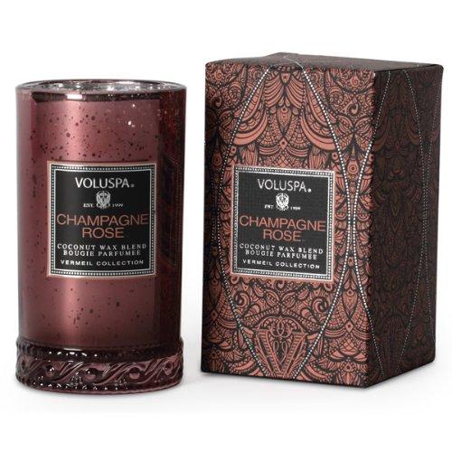 Voluspa Vermeil Petite Maison Candle 5.25oz - Champagne Rose