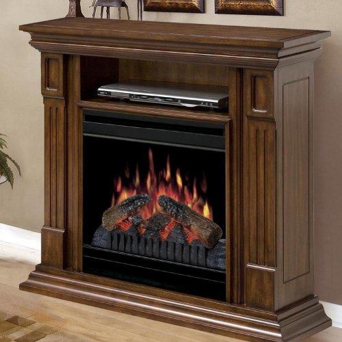 Dimplex Deerhurst Electric Fireplace Media Console in Walnut picture B008LBEORA.jpg