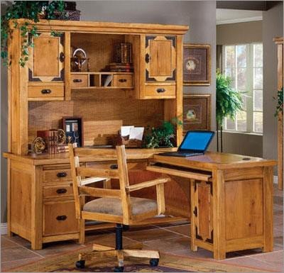 World Concepts Lodge Home Office Large Desk