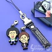 StrapyaNext 吉本芸人 トータルテンボス ラバー携帯ストラップ
