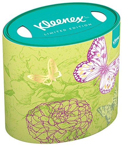 Kleenex, Fazzoletti con scatola ovale, modelli assortiti