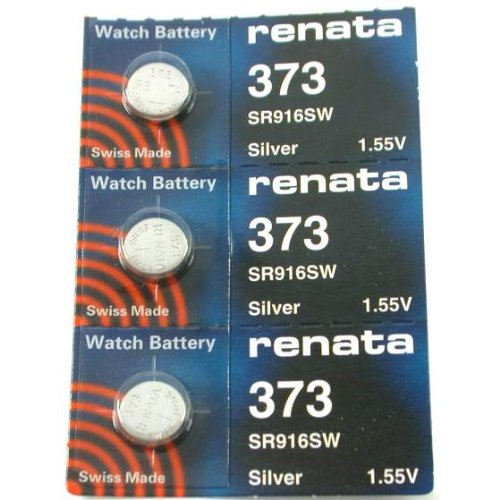 FOSSIL Watches:#373 Renata Watch Batteries 3Pcs Images