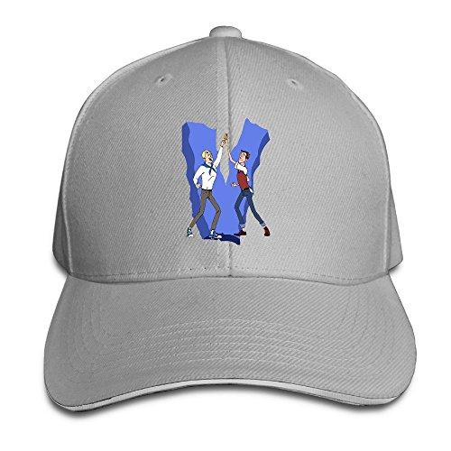 bang-unisex-the-venture-bros-logo-baseball-regolabile-fashion-ash-taglia-unica