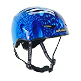 HardnutZ Helmets Kids Blue Rain Street Cycle - Blue, 51-54cm