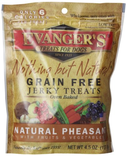 Evanger'S 776302 Nothing But Natural Pheasant Dog Treats, 4.5-Ounce front-874560