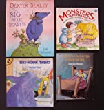 img - for Monsters: Set of 4 Children's Picture Books (There's a Monster Under My Bed ~ After-School Monster ~ Monsters in My Mailbox ~ Dexter Bexley and the Big Blue Beastie) book / textbook / text book