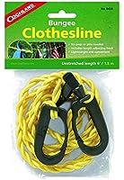 Coghlan's 0433 Adjustable Bungee Clothesline, length 6'