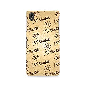 Mobicture I love Chocolate Premium Printed Case For Sony Xperia Z2 L50W