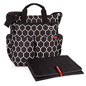 Skip Hop Duo Signature Changing Bag Onyx Tile from Skip Hop