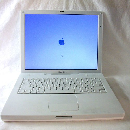 apple ibook g4 ghz 768mb ram 40 gb hard drive internal combo drive 56k modem. Black Bedroom Furniture Sets. Home Design Ideas