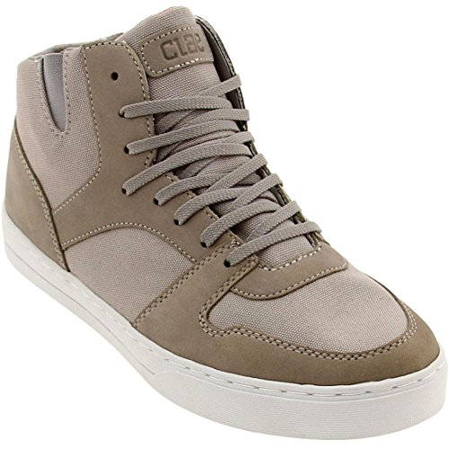 Clae Men's Rollins (concrete canvas)-13.0