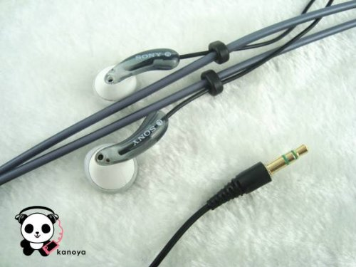 Sony Neck Strap Style Stereo Headphones Earbuds Mdr-Ne2 Grey