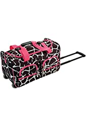 Rockland Luggage 22 Inch Rolling Duffle Bag