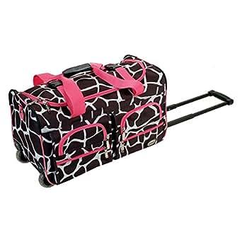 Rockland Luggage Giraffe 22 in. Rolling Duffel Bag