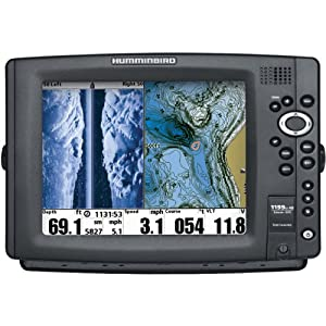 Humminbird 1199ci HD SI Combo Fish Finder System, Black by Humminbird