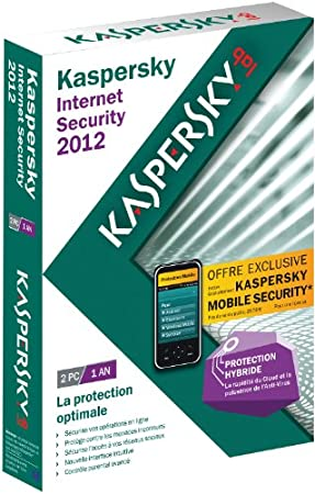 Kaspersky internet security 2012 (2 postes, 1 an)