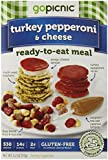 GoPicnic Ready To Eat Meals, Turkey Pepperoni and Cheese, 3 Ounce