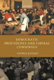 img - for Democratic Procedures and Liberal Consensus book / textbook / text book