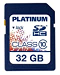 Platinum - Tarjeta de memoria SDHC de...