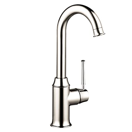 Hansgrohe 04217830 Talis C Bar Kitchen Faucet, Polished Nickel