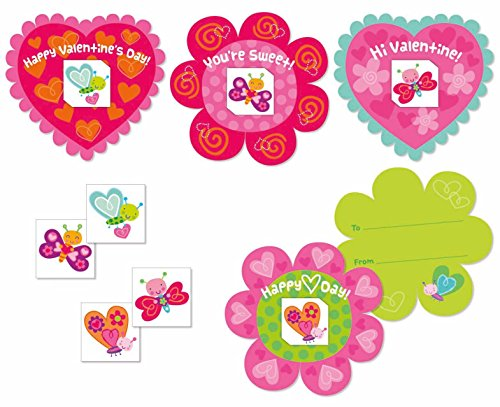 Butterfly Tattoo Valentine Card Pack