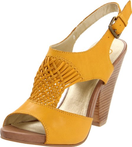 Seychelles Women's Blue Skies Slingback Sandal,Yellow,8.5 M US