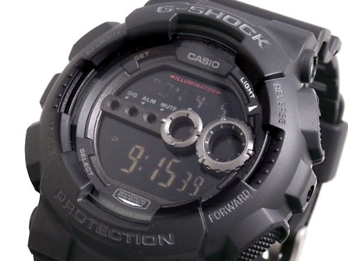 Casio CASIO G shock g-shock high luminance LED watch GD100-1B [parallel import goods]