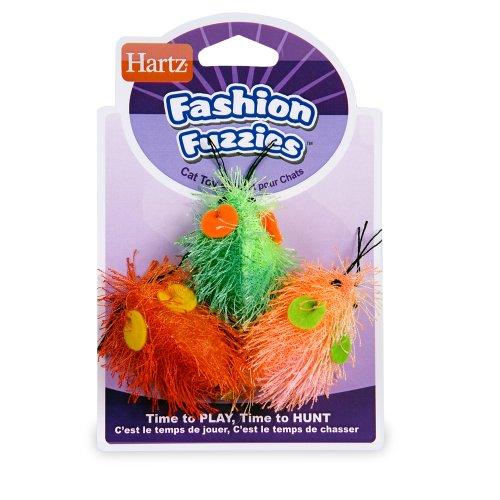 Hartz Fashion Fuzzies Mice Cat Toy