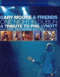 MOORE,GARY ONE NIGHT IN DUBLIN-TRIBUTE TO PHIL LYNOTT