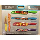 Tomodachi 6 knives With matching blade guards
