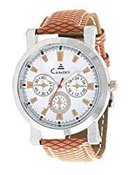 CAMERII Analogue White Mens Watch - WM73