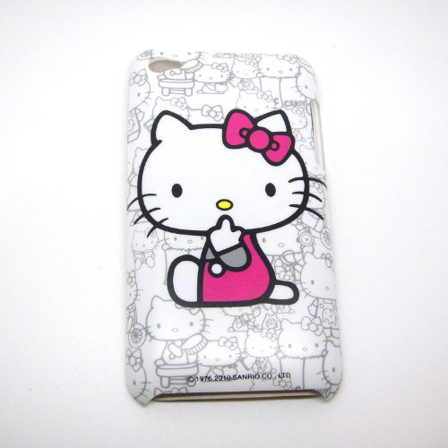 Dresses  Touch Case Cover Apple Kitty Dress Pink Cute Ipod