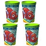 Disney Finding Nemo Coral Reef Party Plastic Cups - 8 Guests